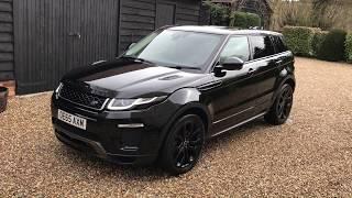Land Rover Evoque Black Design Pack 2014 Videos