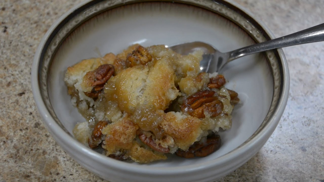 Our Kitchen Pecan Cobbler Youtube