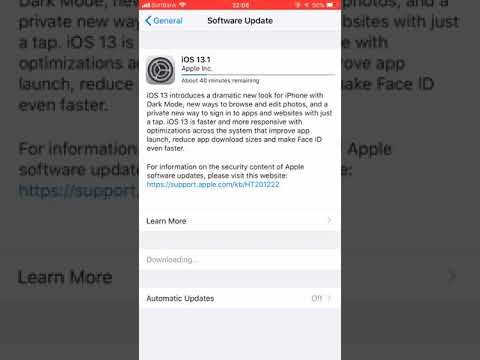 """How To Fix """"unable To Check For Update"""" Problem When Updating From Ios12.4 To Ios13.1"""