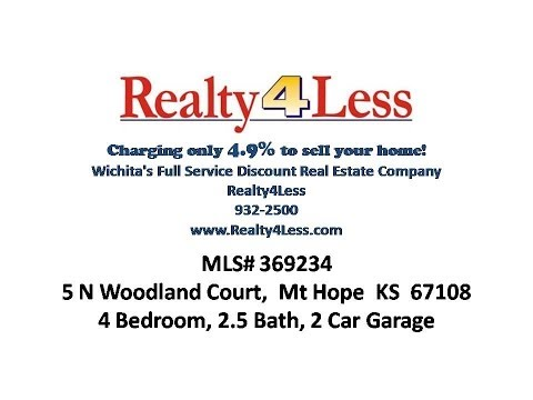 5 N Woodland Court, Mt Hope KS 67108 - House for Sale Mt Hope, KS