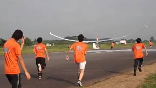 WASA 2015年度 最終試験飛行@桶川 中距離試験3本目