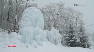 Ľadový unikát za Selcami