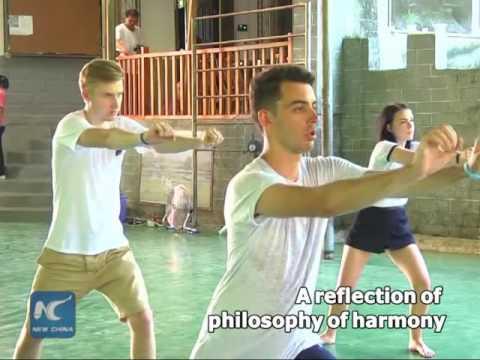 Tai Chi, Chinese Kungfu resisting hardness with softness
