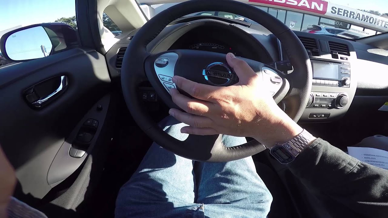 How To Operate A Nissan Leaf A Guide For Busy Owners Youtube