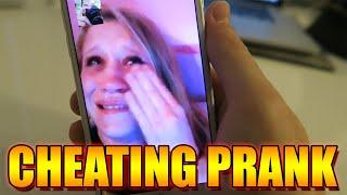 I CHEATED ON MY GIRLFRIEND! PRANKS - CHEATING PRANK