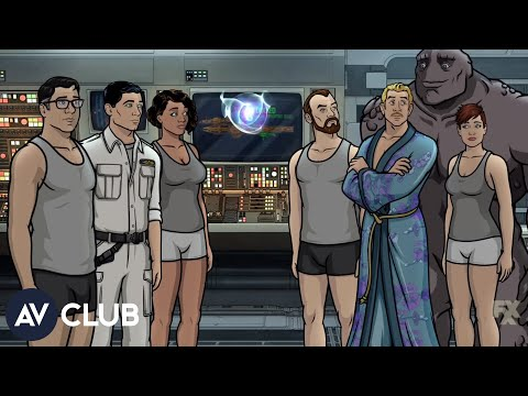 H. Jon Benjamin, Judy Greer, And The Cast Of Archer On Voyaging To 1999