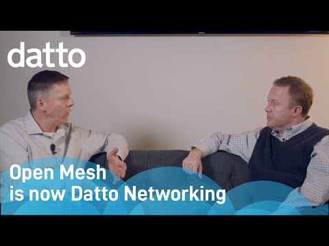 Open Mesh is now Datto Networking