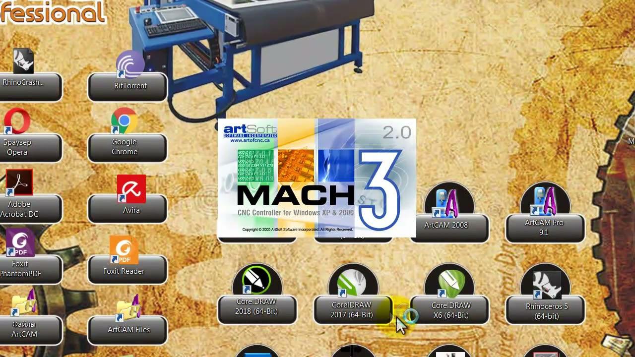 Настройка, подключение Mach3 к вашему станку с ЧПУ через USB. CNC-Profi.