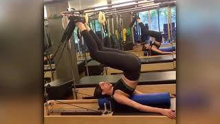 Deepika Padukone Gym Workout Pilates and TRX Exercises YouTube
