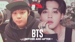 Video BTS - Predebut Vs Now : Before and After download MP3, 3GP, MP4, WEBM, AVI, FLV Maret 2018