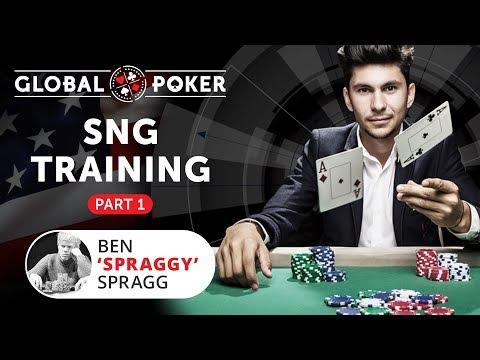 Poker SnG Training On Global Poker Part 1/2