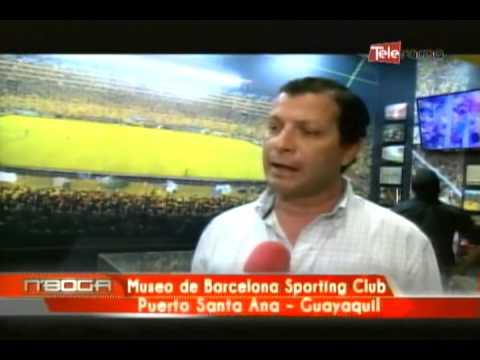 Museo de Barcelona Sporting Club Puerto Santa Ana - Guayaquil
