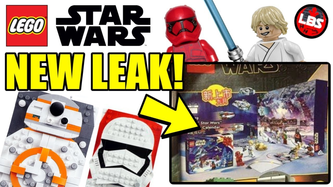 2020 LEGO Star Wars Advent Calendar LEAK + UCS Gunship UPDATES
