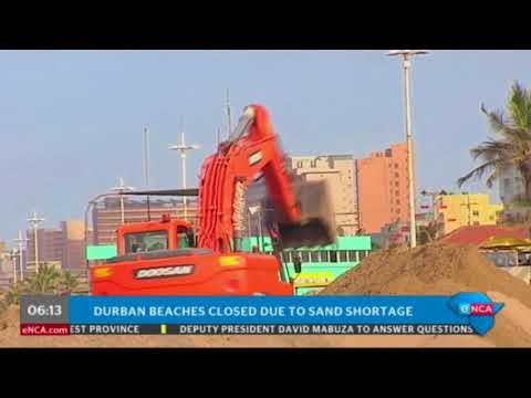 Durban beaches closed