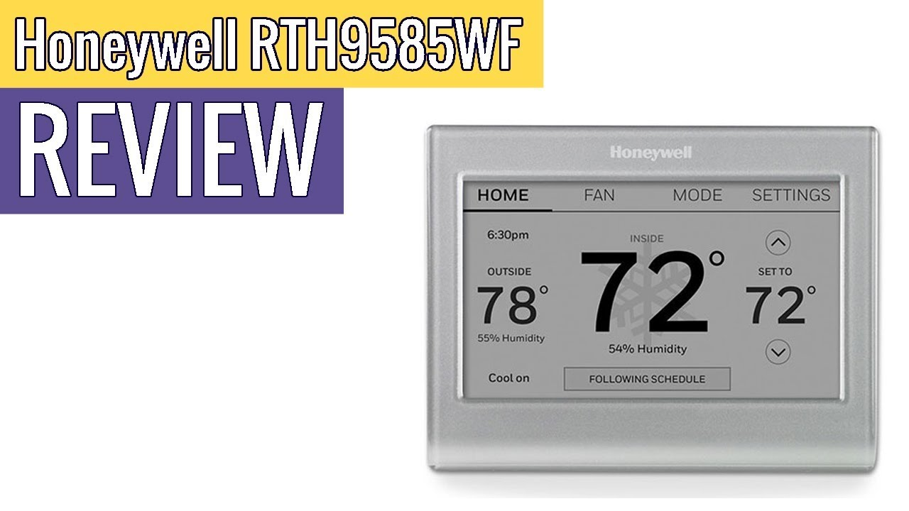 Honeywell Home Wi Fi Smart Color Programmable Thermostat