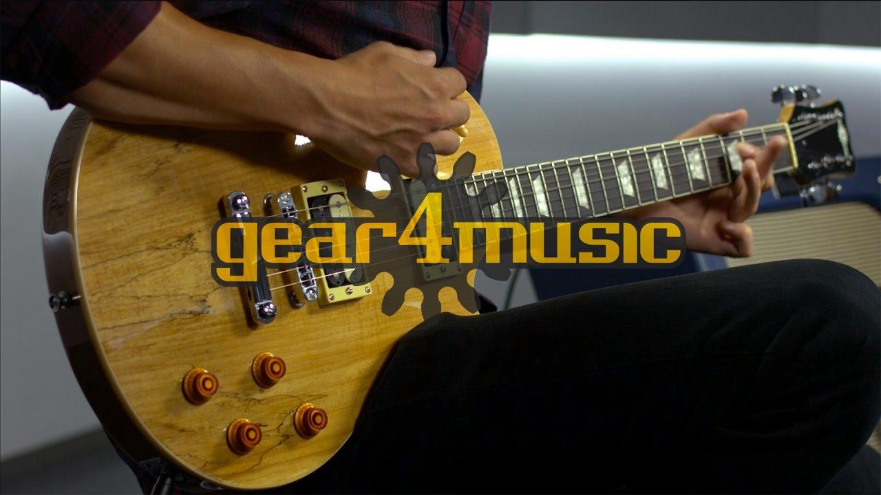 myydyin tuote hyvämaineinen sivusto parhaat tarjoukset Spalted Maple New Jersey Electric Guitar by Gear4music