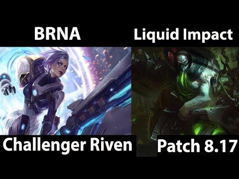 [ BRNA ] Riven vs Urgot [ Liquid Impact ] Top  - BRNA Riven Stream