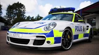 Svenska Polis sirener REMIX Swedish Police sirens