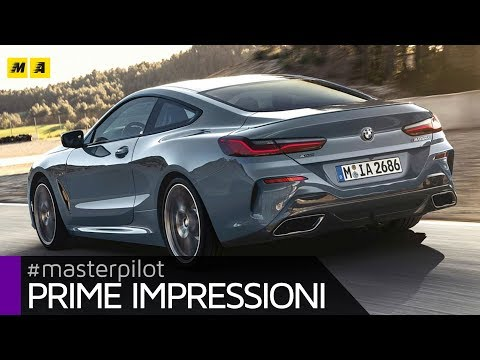BMW Serie 8 Coupé 2019 | Elegante e sportiva, anche V8 da 530 CV! (4k video)