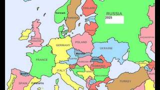 Future Map of new europe