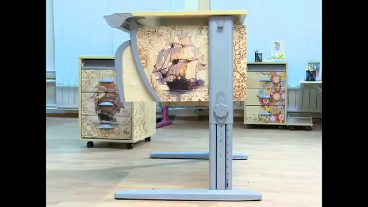Mealux парты и кресла | baby-plaza.com.ua - YouTube