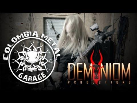NAKHIEL BURNING SHROUD (COLOMBIA METAL GARAGE DEMUNIOM PRODUCTIONS )