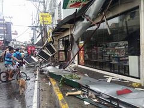 Philippine tornado cause by west monson