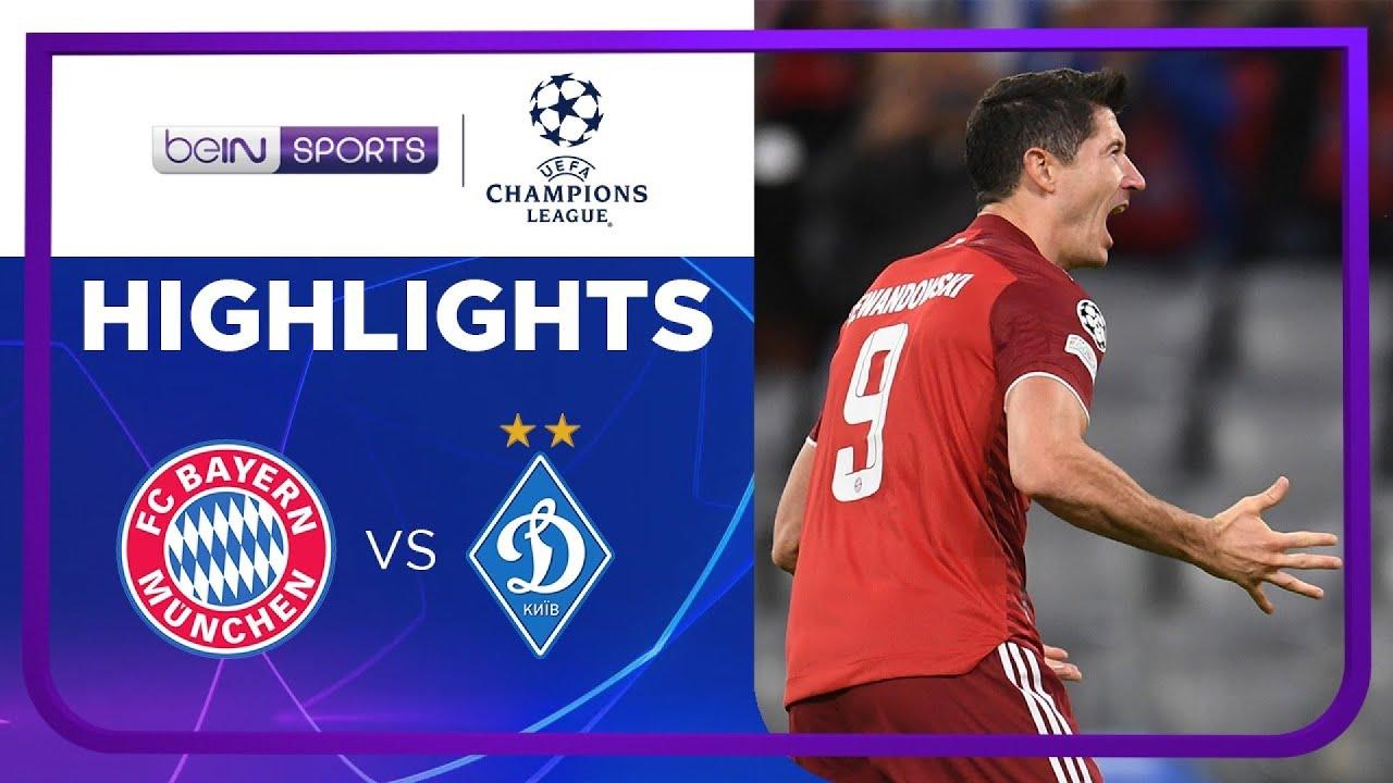 บาเยิร์น มิวนิค 5-0 ดินาโม เคียฟ | ยูฟ่า แชมเปี้ยนส์ ลีก ไฮไลต์ Champions League 21/22