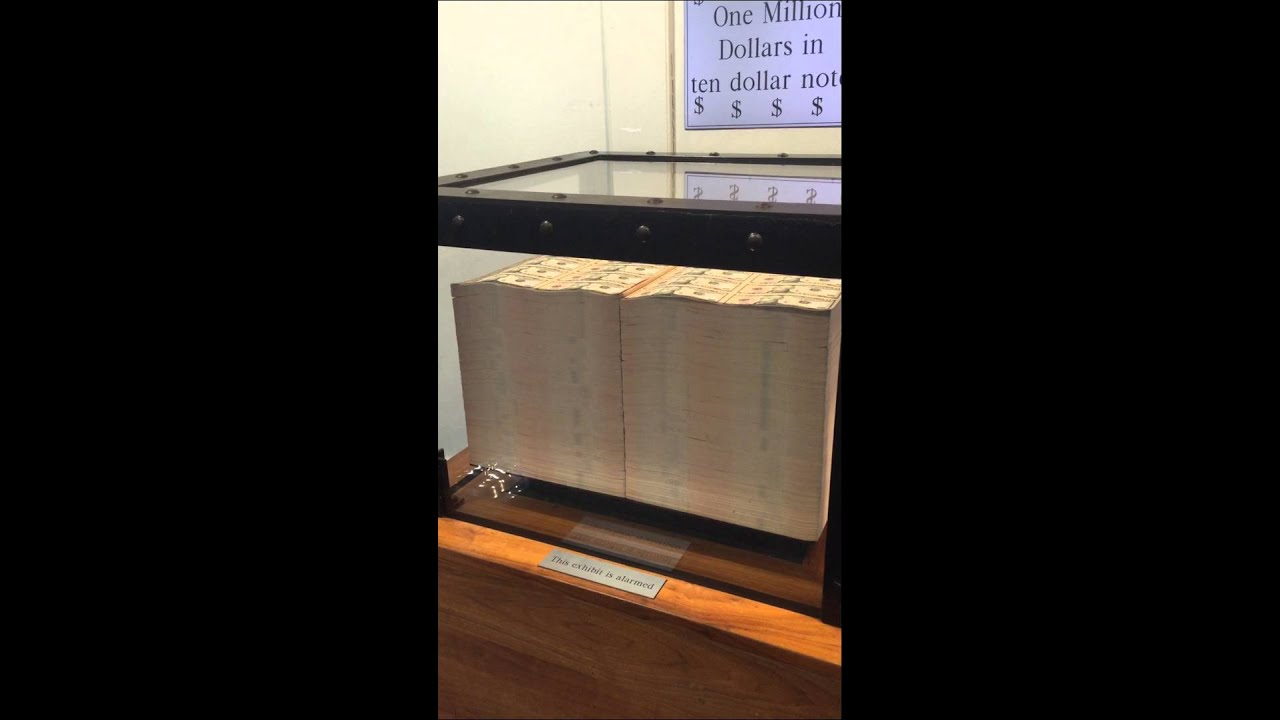 What 1 million dollars looks like in cash