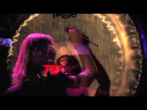 Encounter with gongs - an expansive experience: Karen Stackpole at TEDxExpressionCollege