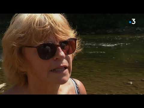 Poitiers : les écologistes passent le Clain à pied deux mois plus tôt que d'habitude - - France 3 Nouvelle-Aquitaine