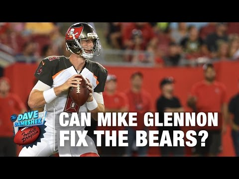 How Will Mike Glennon fit in with the Bears | NFL | DDFP