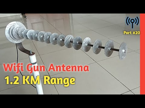 14 Elements Wifi Gun Antenna, Up To 1.2KM