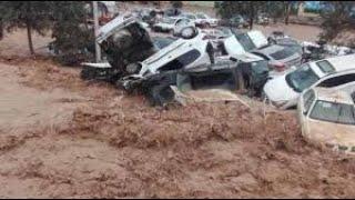 Цунами в Новой Зеландии. Землетрясение в Греции. Колумбия в воде.  Наводнение в Марокко.