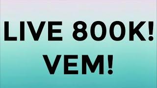 LIVE 800K! MAKE E RESPONDENDO VCS!