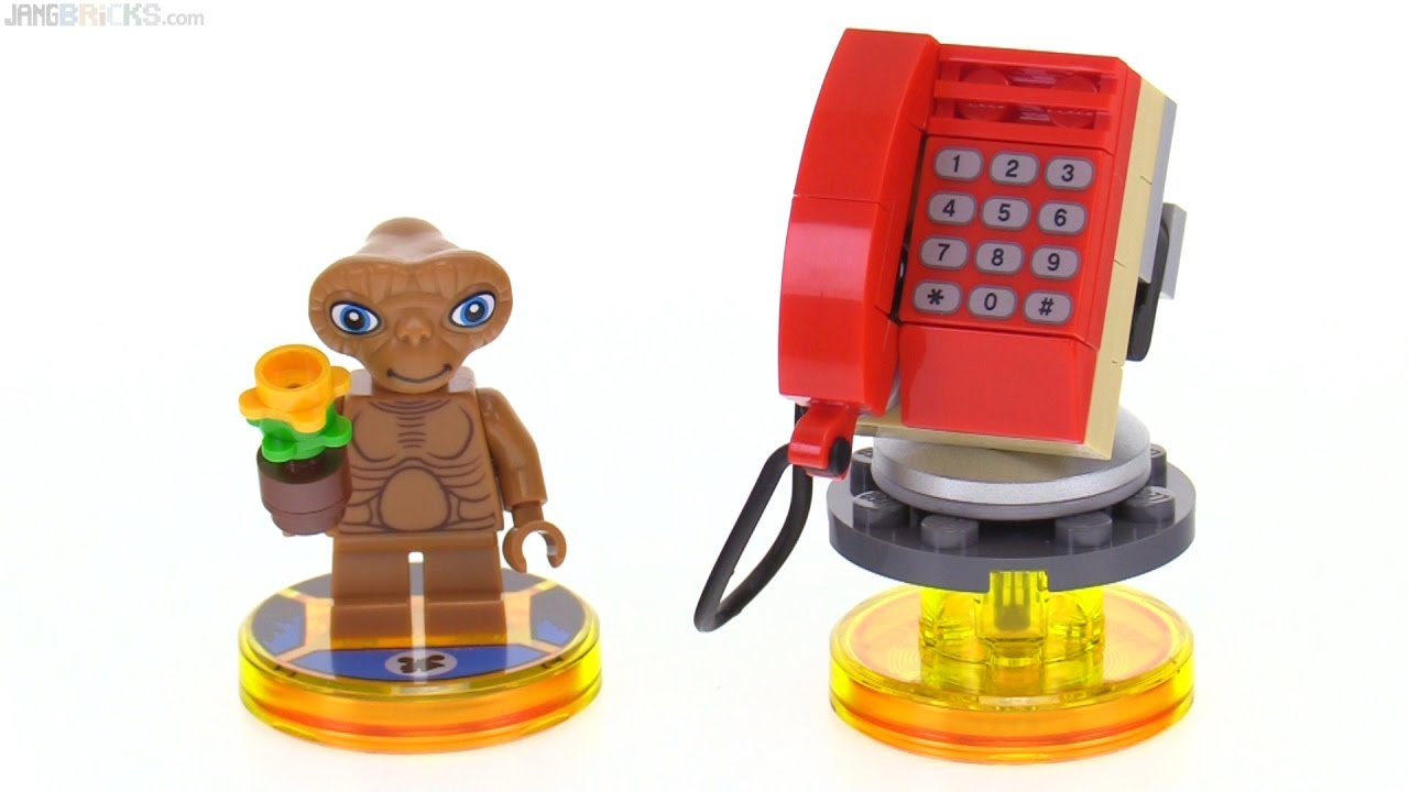 LEGO Dimensions E.T. Fun Pack toys review! 71258
