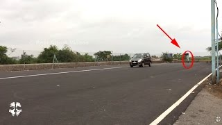 real ghost video in india real ghost caught on camera on road