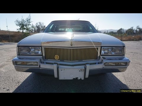 91 cadillac sedan deville 1 owner low miles full video review youtube rh youtube com 1996 Cadillac Sedan Deville 1994 Cadillac Sedan Deville
