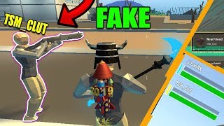 Fake TSM Member Was My DUO FILL PARTNER! ALMOST Carried HIM! Then we became FRIENDS (Roblox Strucid)