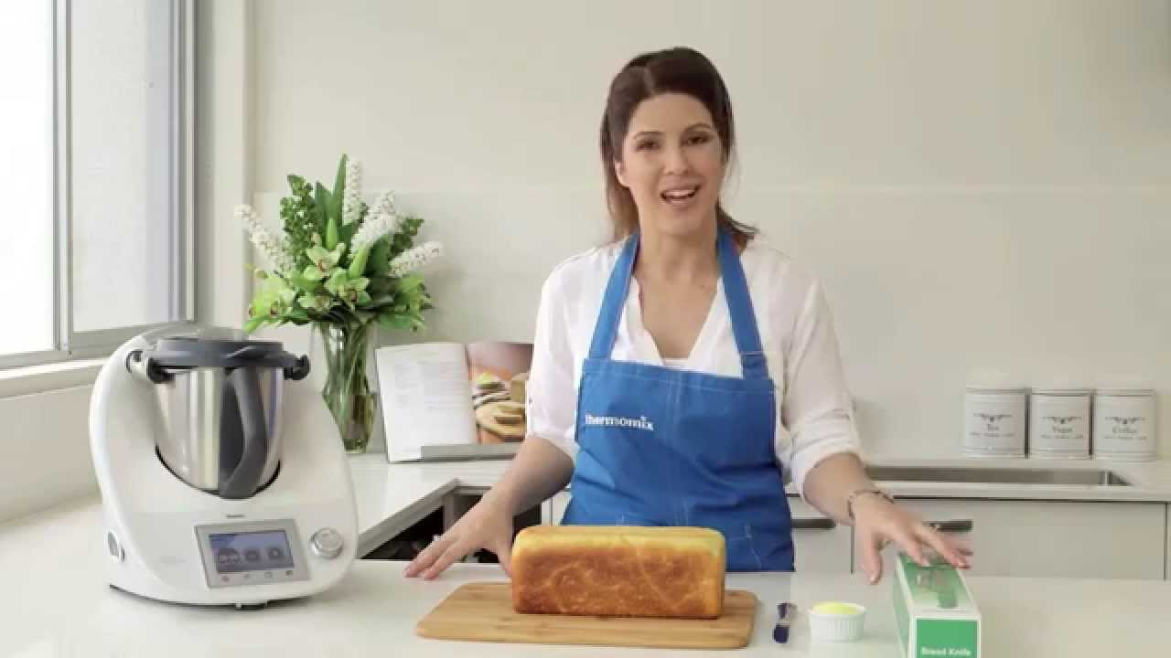 how to use thermomix bread tin