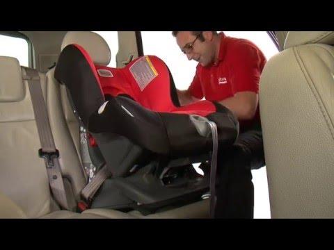 Britax Safety Installation: First Class Plus Car Seat