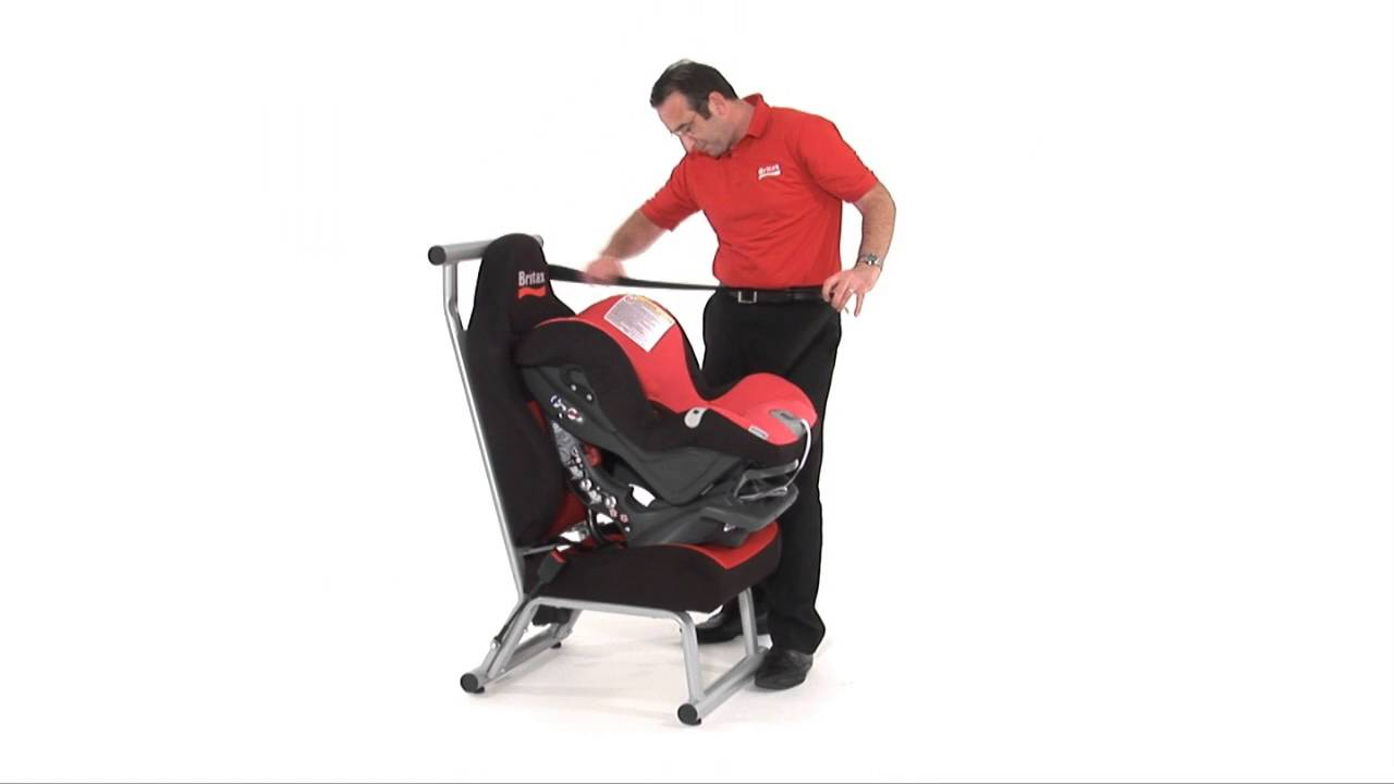 Britax Safety Installation First Class Plus Car Seat Youtube