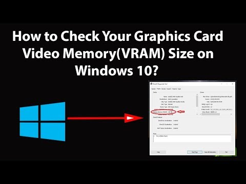 How To Check Your Graphics Card Video Memory (VRAM) Size On Windows 10?