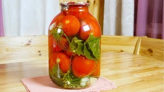Консервируем на зиму | Маринованные помидоры