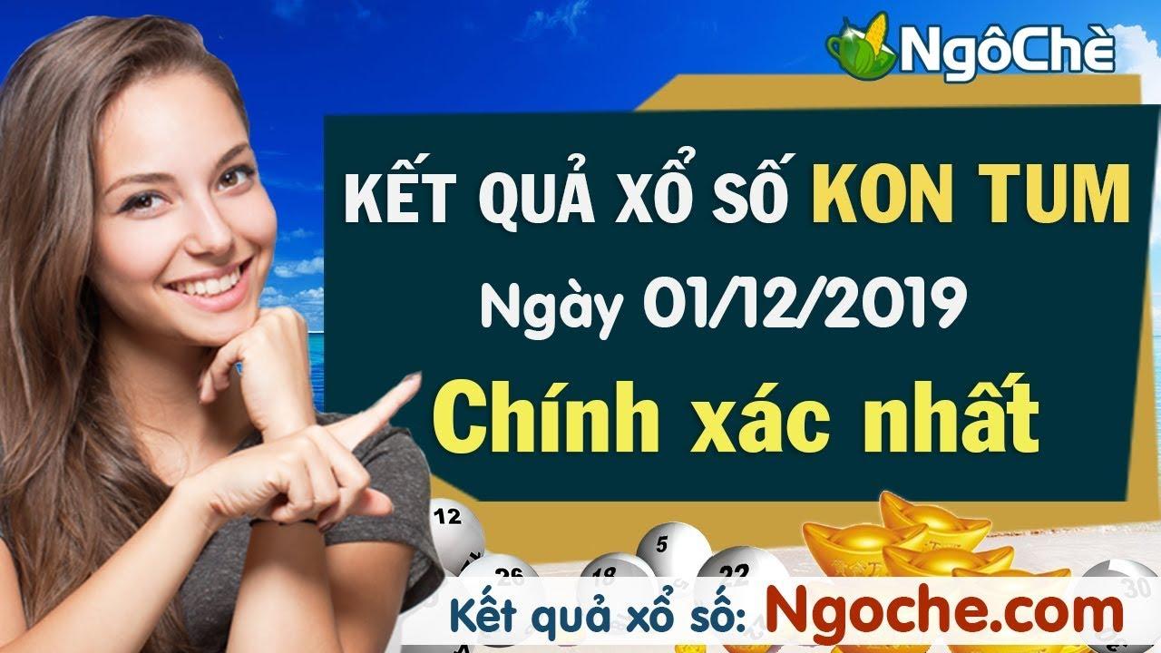 XS Kon Tum 1/12/2019 – Xổ số Kon Tum ngày 1 tháng 12 năm 2019 – Xổ số Kon Tum chủ nhật hôm nay