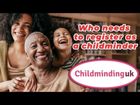 Becoming A Childminder   Who Need To Register