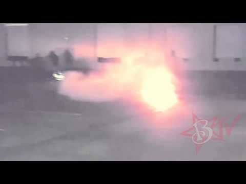 INSANE Motorcycle ACCIDENT FIRE EXPLOSION...