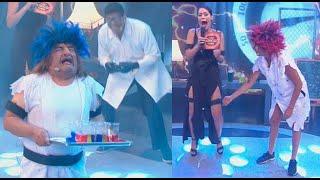 Gambar cover Los famosos se electrocutaron jugando 'Acalambrados' - Mi famoso puede