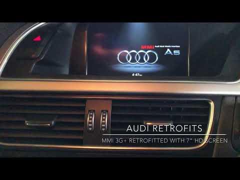 2013 Audi A5 MMI 3G Low To 3G+ Retrofit