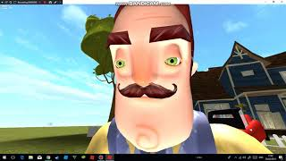 Hello neighbor act 1 (Roblox) Part 3